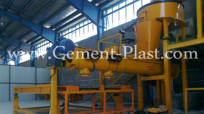 خط تولید سنگ مصنوعی سمنت پلاست نیمه اتوماتیک