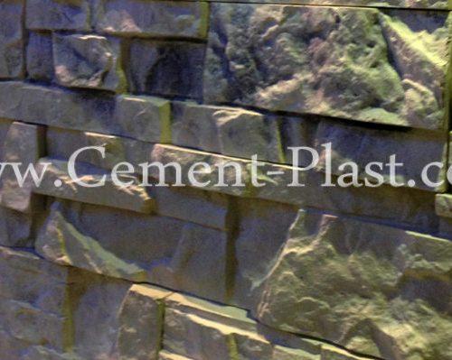 سنگ آنتیک ، سنگ آنتیک مصنوعی صخره ای